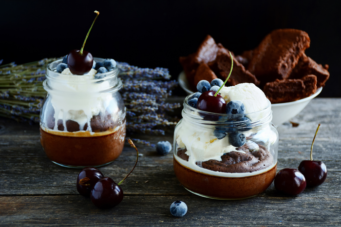 Gluten Free Black Forest Trifle