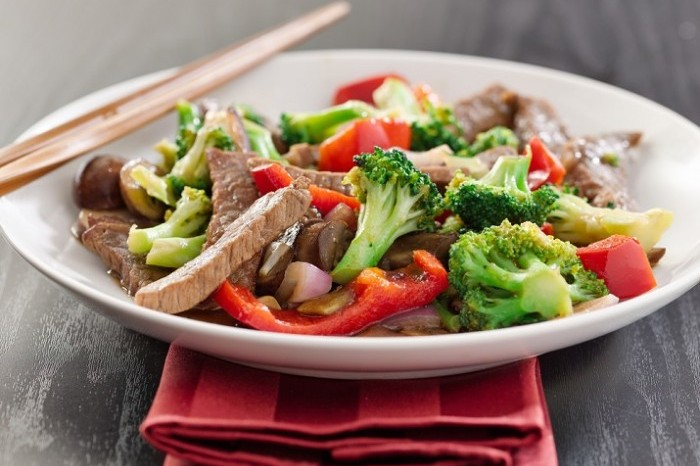 Beef and Broccoli Stir Fry 700x489
