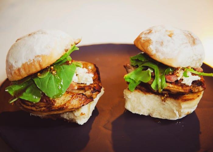 Chick bacon sandwich
