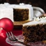 Chocolate Christmas Fruit Cake 700x464