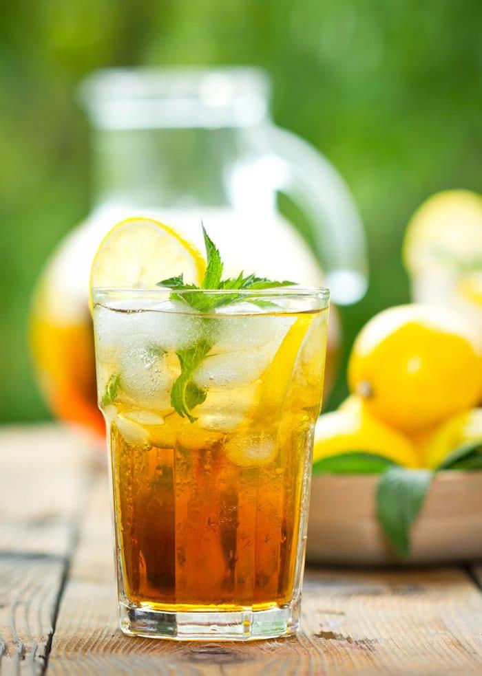 Cooling Ice Tea