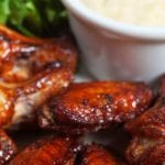 Hot Sweet and Sticky Chicken Wings 700x489