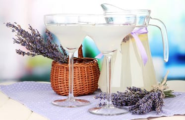 Lavender and blueberry Ice Tea
