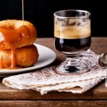 Mini Coffee Glazed Doughnuts 700x489