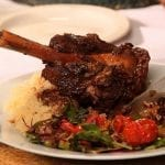 Moroccan Spiced Lamb Shank with Apricots 2 700x393
