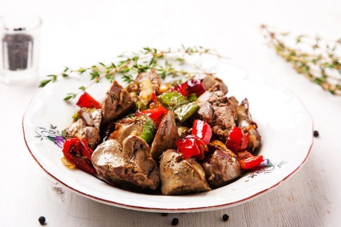 Paprika Chicken livers 700x489
