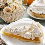 Peach and Custard Meringue Pie 700x664