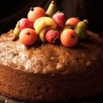 Spiced Apple Christmas Cake 700x513