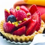 Strawberry Ricotta and Ginger Cookie Tarts
