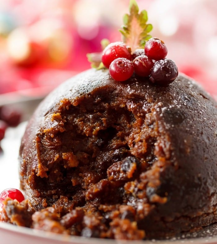 Sugar Free and Gluten Free Christmas Pudding 700x786