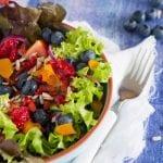 Summer Salad with Orange Vinaigrette 700x587