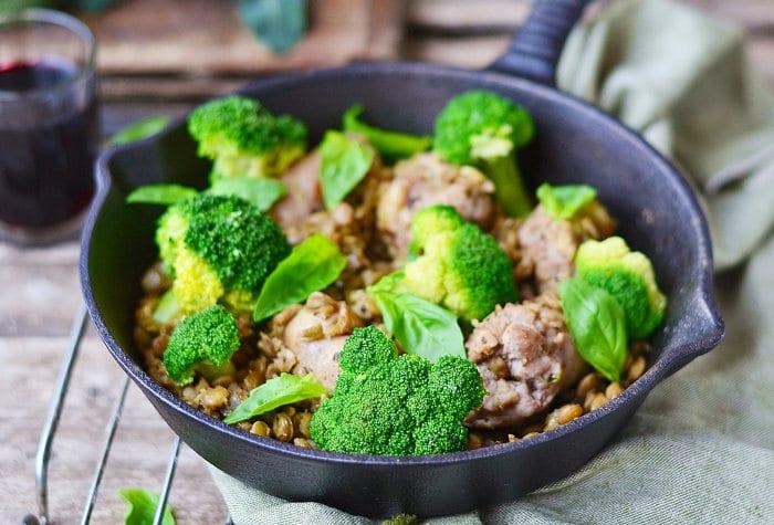 broccoli and lentils edit