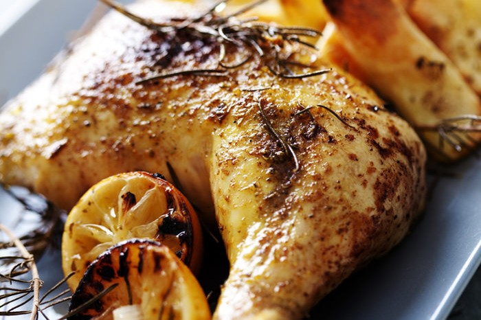 sage thyme and roast chicken