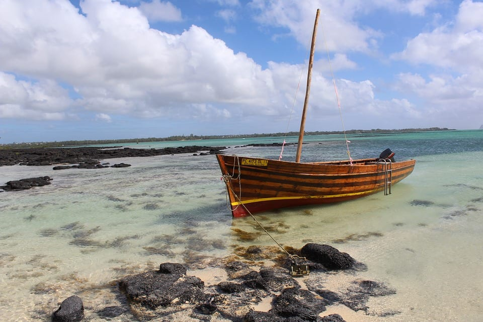 Visiting Mauritius boot