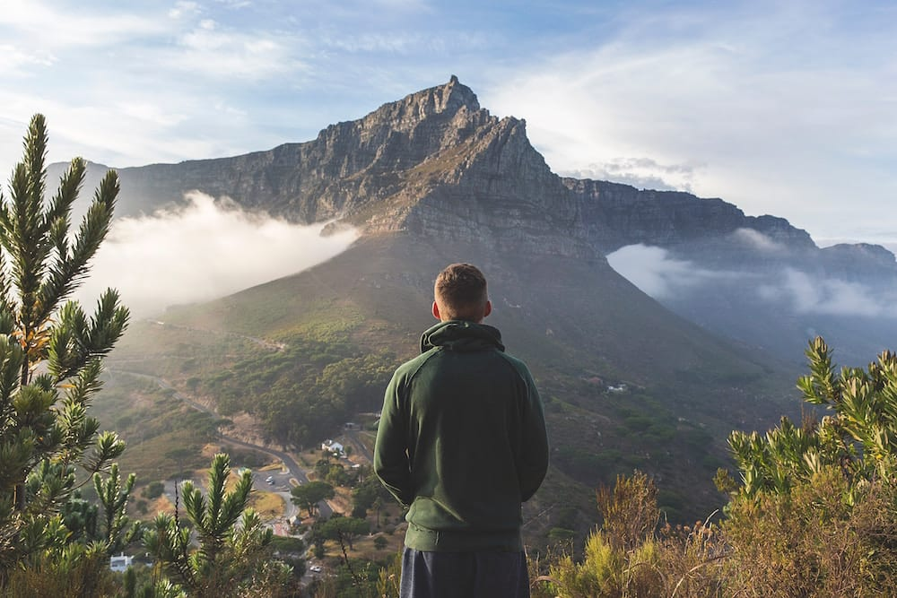 Backpacking South Africa joshua earle