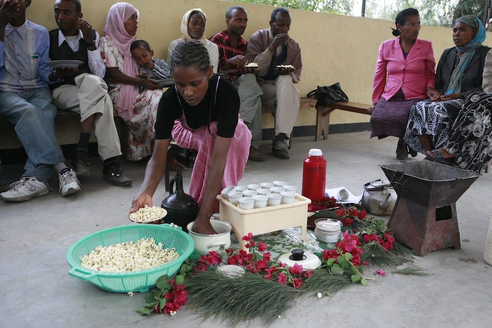 Ethiopian Coffee Ceremony 6