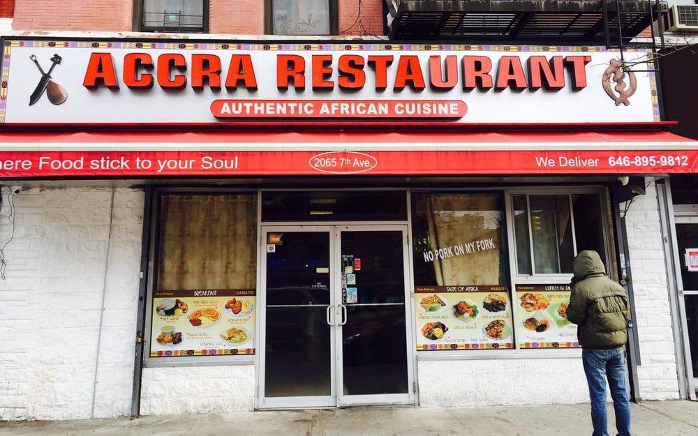 New York Africa Restaurant Week accra