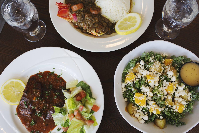New York Africa Restaurant Week lenox sapphire