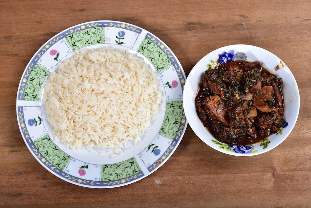 Nigerian Food efo riro