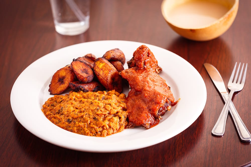 Nigerian Food plate