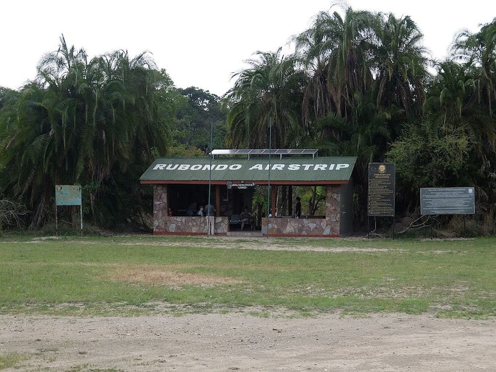 Safari Island Rubondo Airstrip lounge 1