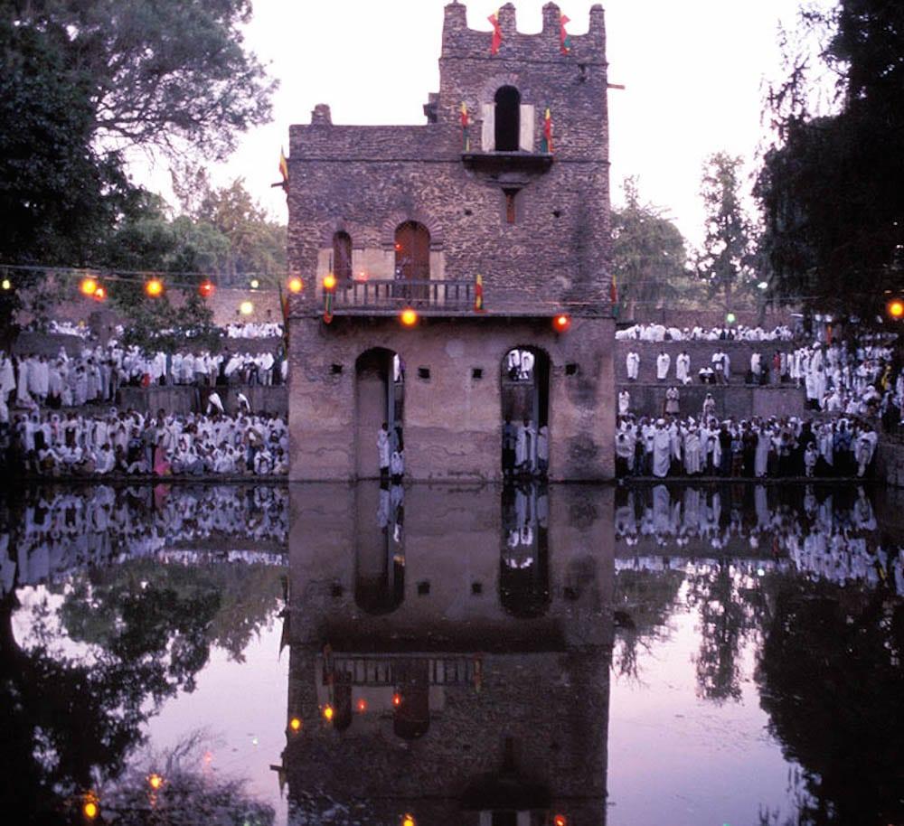 Christmas in Ethiopia Gondar Fasiladas Bath Timket 2