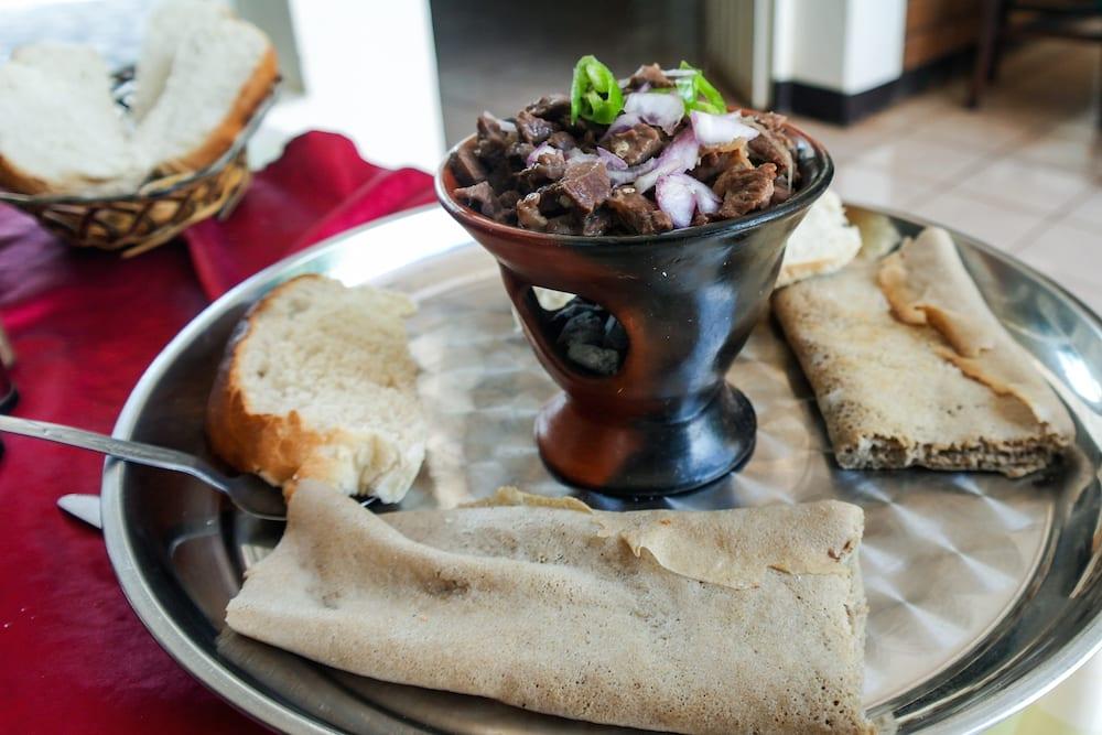 ethiopian food tibs