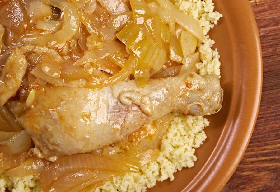African Street Food poulet yassa
