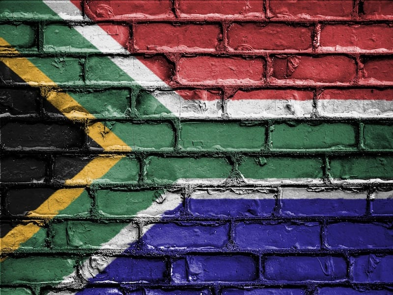 South Africa Townships flag