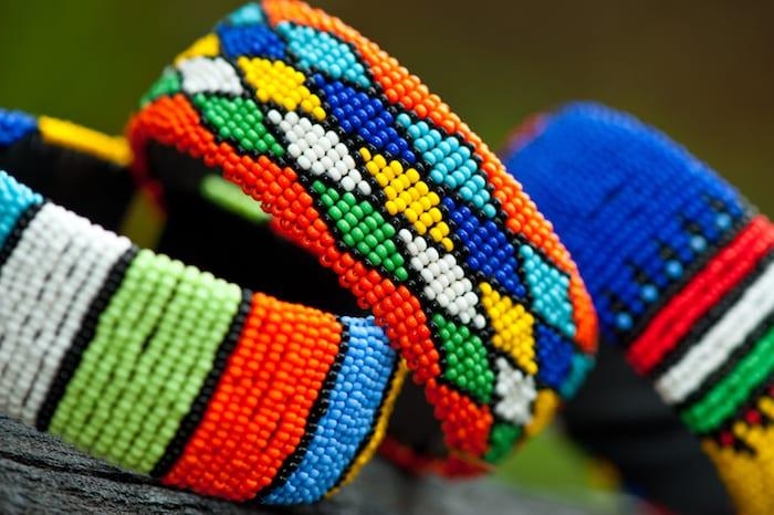Zulu Culture bead bracelets