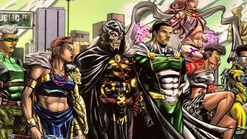 Africa's Avengers the Vanguards
