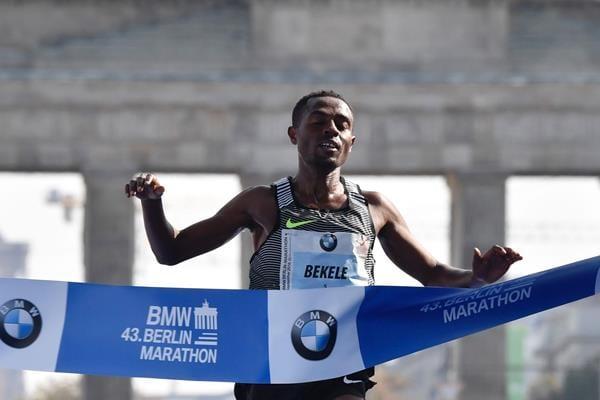 African Sportsmen Kenenisa bekele