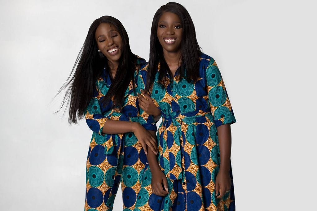 Christelle and Michelle Nganhou