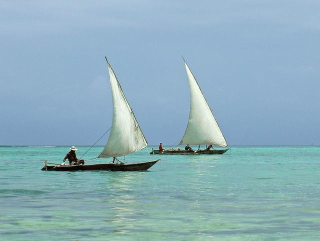 Stone Town Zanzibar Dhows