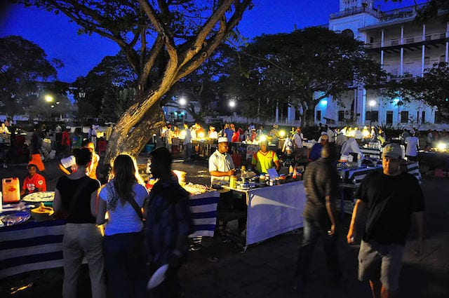 Stone Town Zanzibar Forodhani Night Food Market