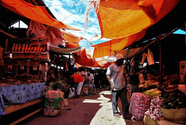 Stone Town Zanzibar market
