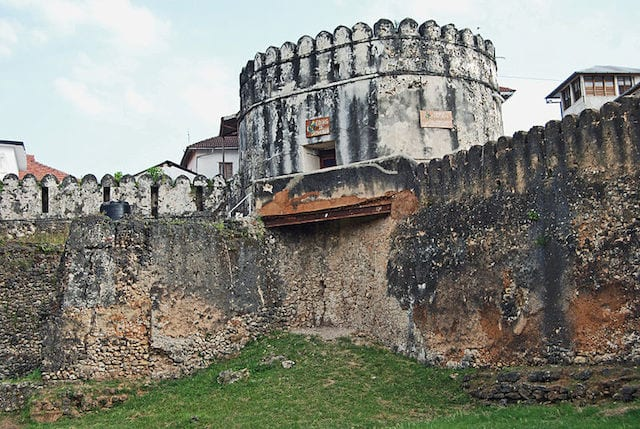Stone Town Zanzibar the old fort
