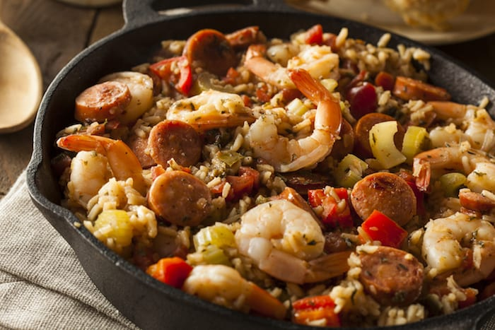 cajun food jambalaya