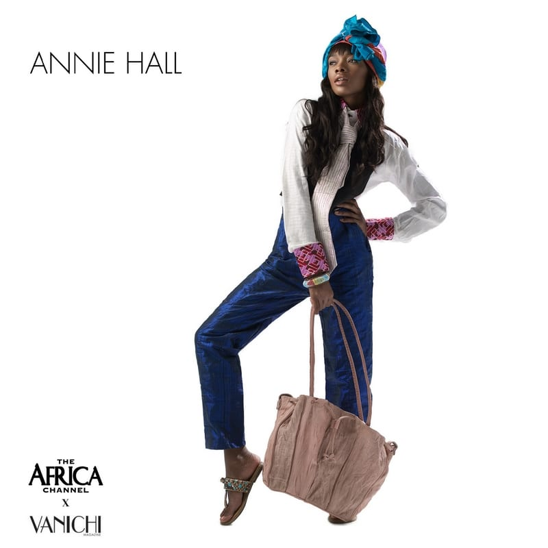 what if movie icons wore african annie hall vanichi