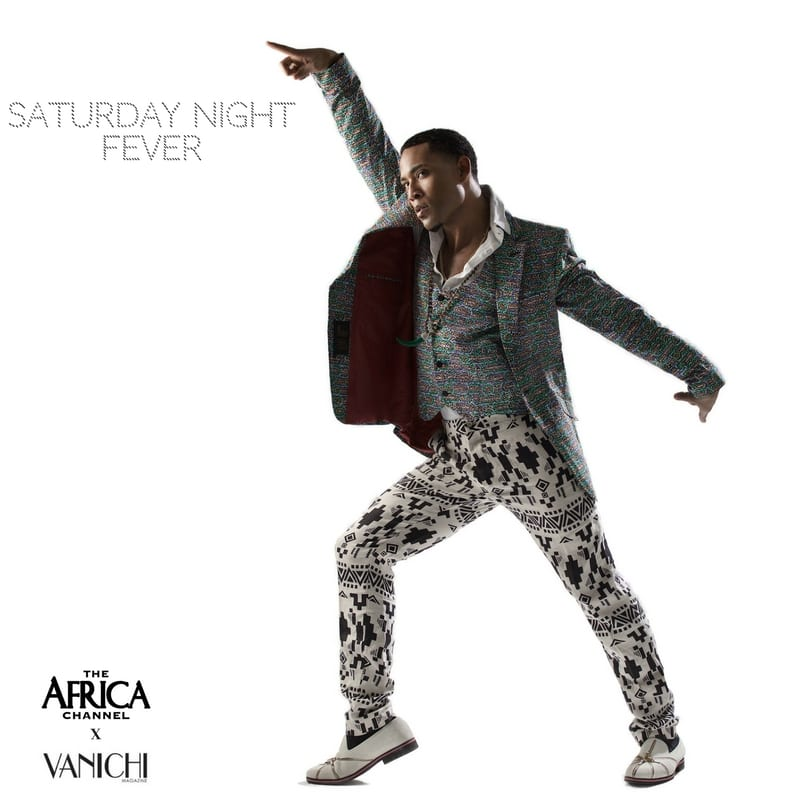 what if movie icons wore african saturday night fever travolta1