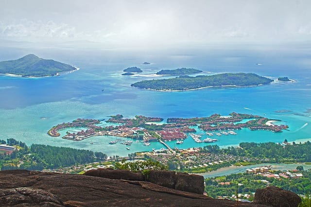 Seychelles Travel Guide arial