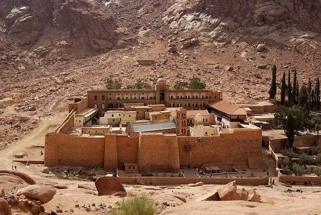 12 st catherines monastery