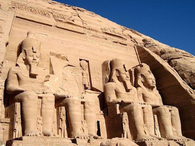 2 Abu Simbel Temples