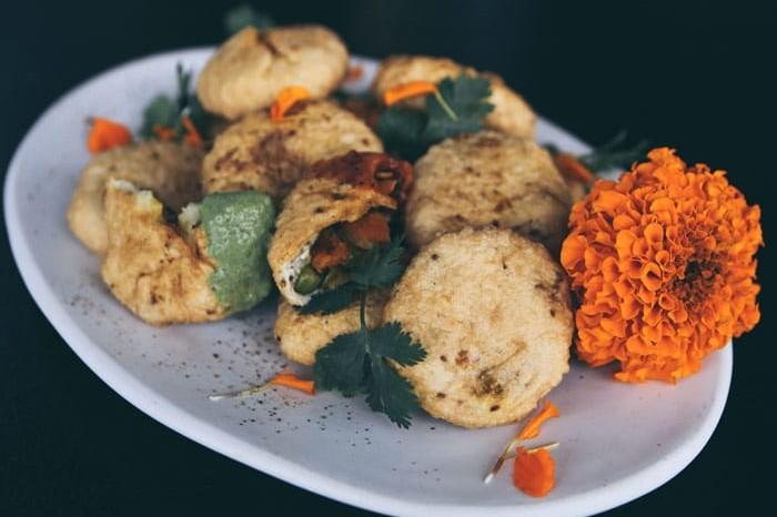 Mixed veg kachoris
