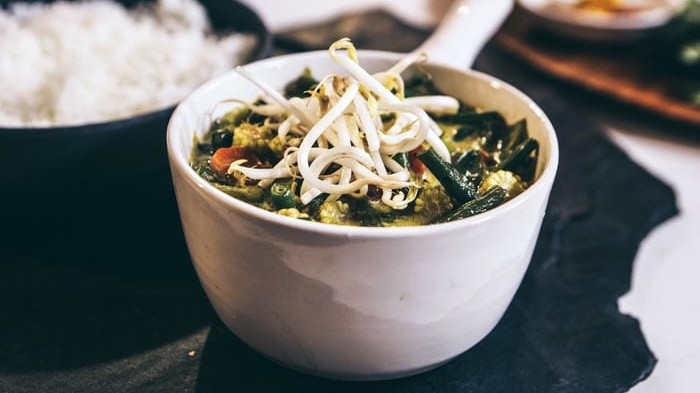 Thai veg curry
