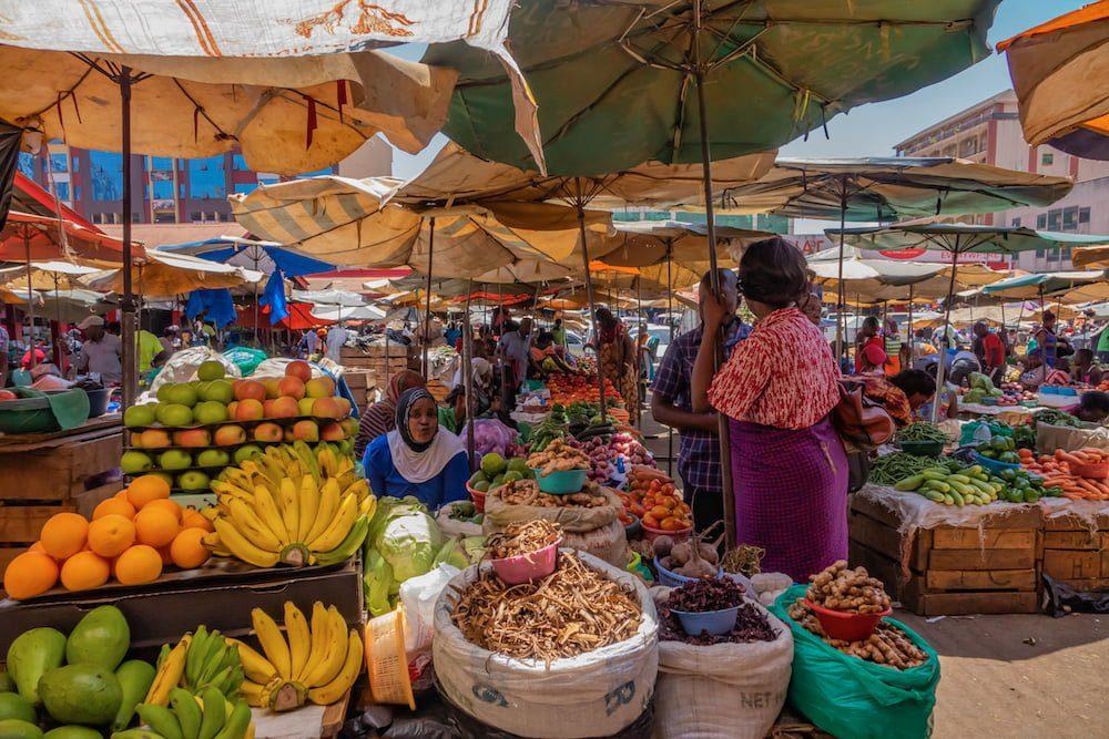 Owino Market Kampala Uganda