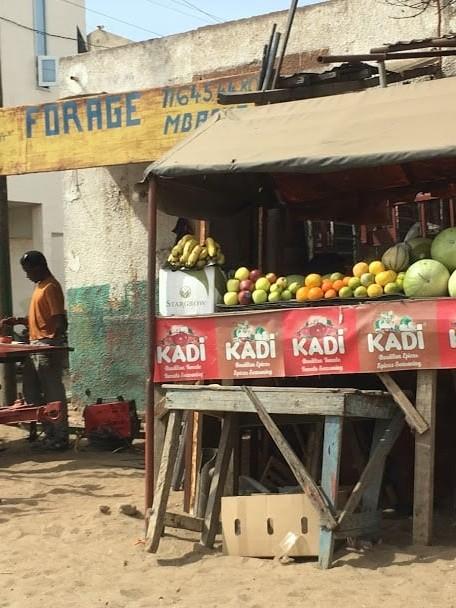 market at thies