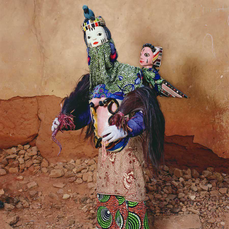 Phyllis Galembo Maske Aye Loja Gelede Masquerade 1